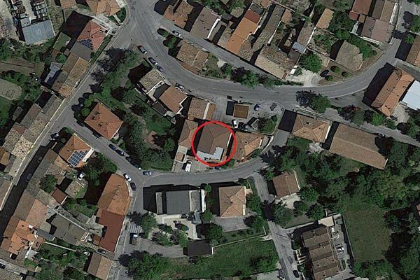 Immagine n0 - Planimetria - Vista aerea - Asta 1679