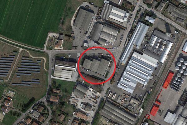 Immagine n1 - Planimetria - Vista aerea - Asta 1683