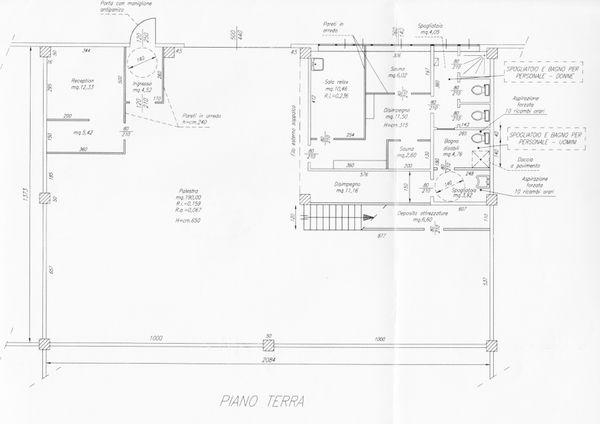 Immagine n1 - Planimetria - Piano terra - Asta 1685