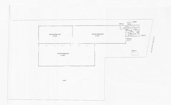 Immagine n0 - Planimetria - Piano terra - Asta 1690