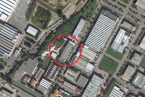 Immagine n1 - Planimetria - Vista aerea - Asta 1691
