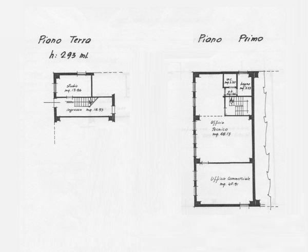 Immagine n0 - Planimetria - Uffici - Asta 1691