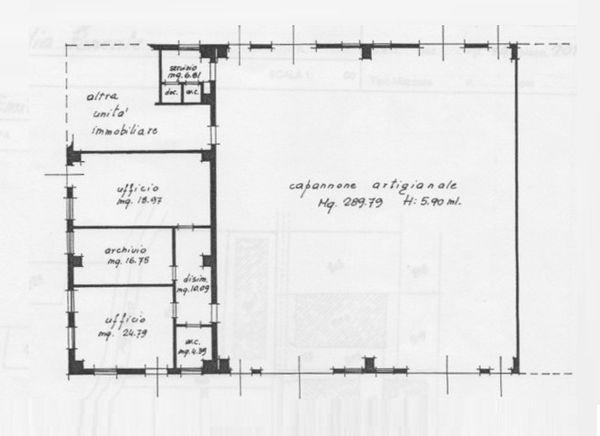 Immagine n0 - Planimetria - Planta baja - Asta 1692