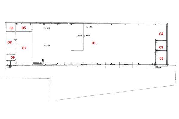 Immagine n8 - Planimetria - Piano terra - Asta 1697