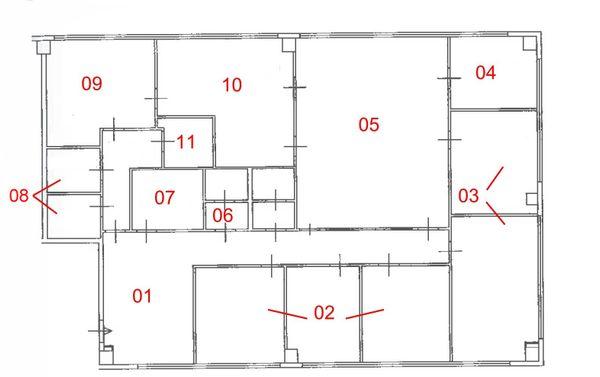 Immagine n10 - Planimetria - Piano Primo - Asta 1698