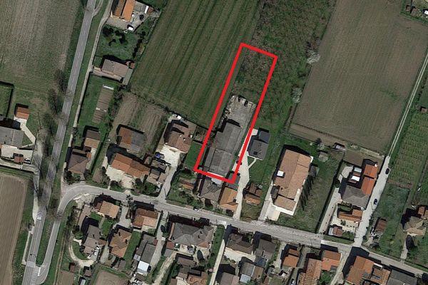 Immagine n0 - Planimetria - Vista aerea - Asta 1699