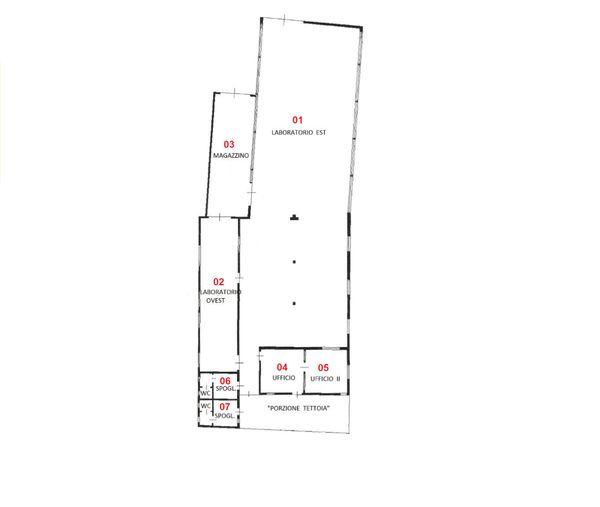 Immagine n6 - Planimetria - Piano terra - Asta 1699