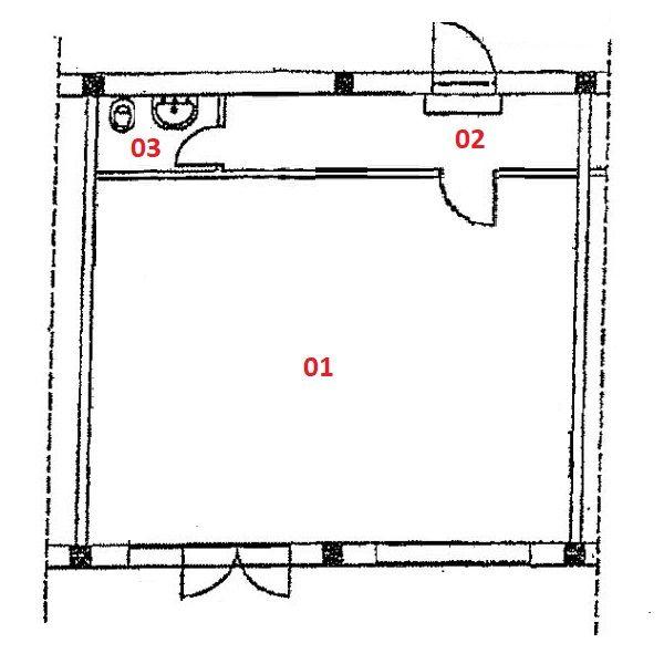 Immagine n2 - Planimetria - Piano terra - Asta 1700