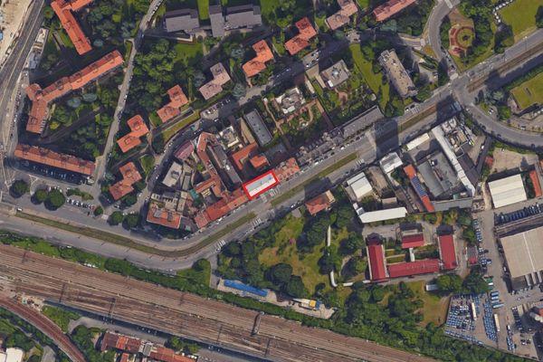 Immagine n1 - Planimetria - Vista aerea - Asta 1706
