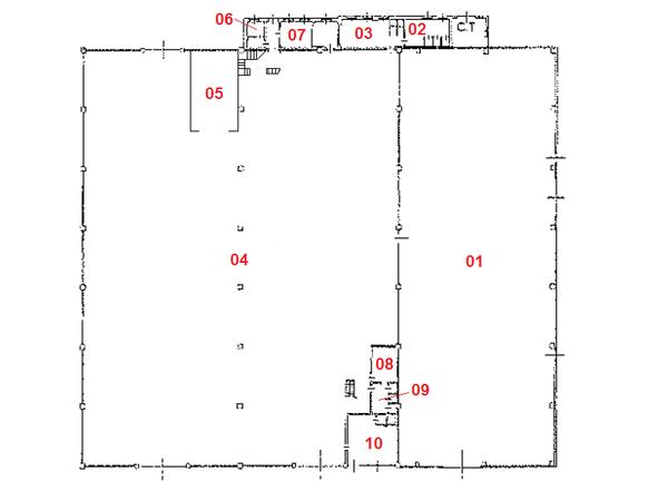 Immagine n9 - Planimetria - Piano terra - Asta 1710