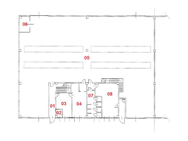Immagine n7 - Planimetria - Piano terra - Asta 1711