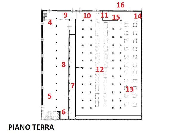 Immagine n0 - Planimetria - Planimetrie Virtual tour - Asta 1714