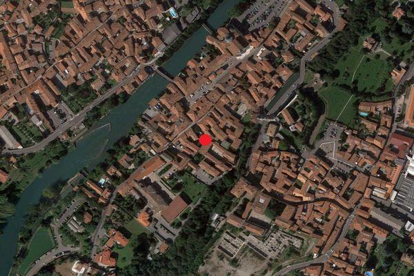 Immagine n0 - Planimetria - Vista aerea - Asta 1727