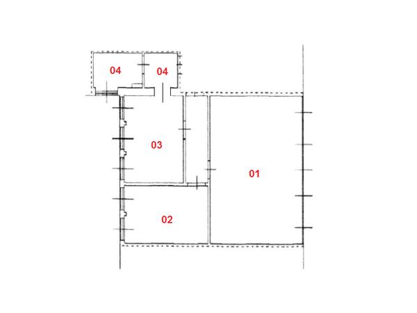 Immagine n3 - Planimetria - Piano primo - Asta 1727