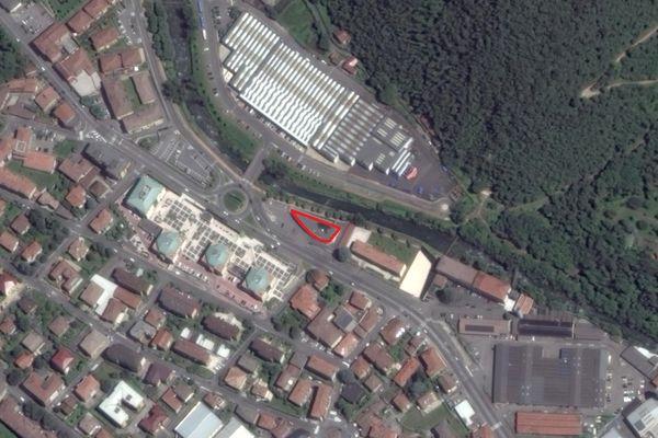 Immagine n1 - Planimetria - Vista aerea - Asta 1738