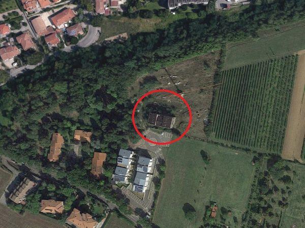 Immagine n1 - Planimetria - Edificio grezzo - Asta 1739