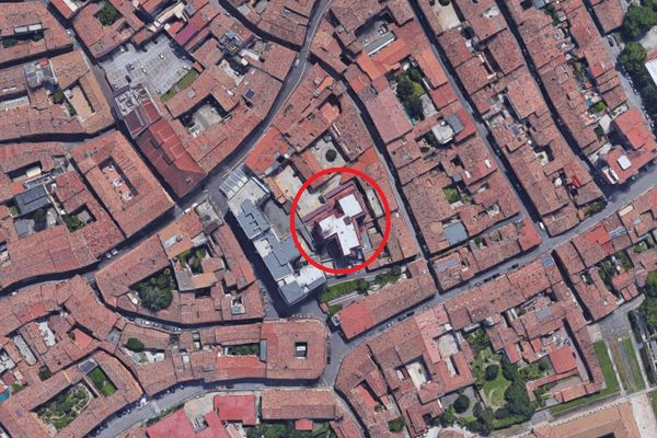 Immagine n0 - Planimetria - Vista aerea - Asta 1742