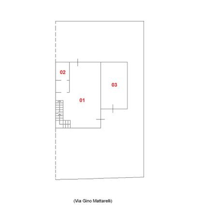 Immagine n2 - Planimetria - Piano terra - Asta 1743