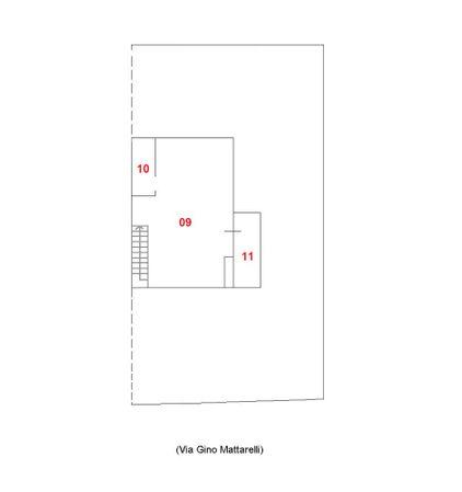 Immagine n2 - Planimetria - Piano secondo - Asta 1743