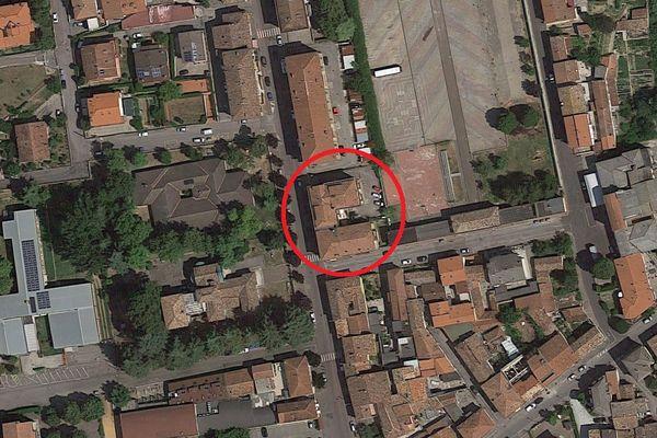 Immagine n0 - Planimetria - Vista aerea - Asta 1745
