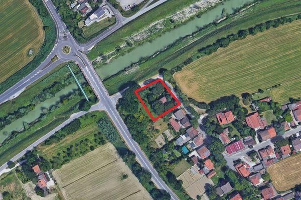 Immagine n0 - Planimetria - Vista aerea - Asta 1753
