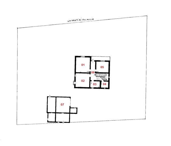 Immagine n6 - Planimetria - Piano terra - Asta 1753
