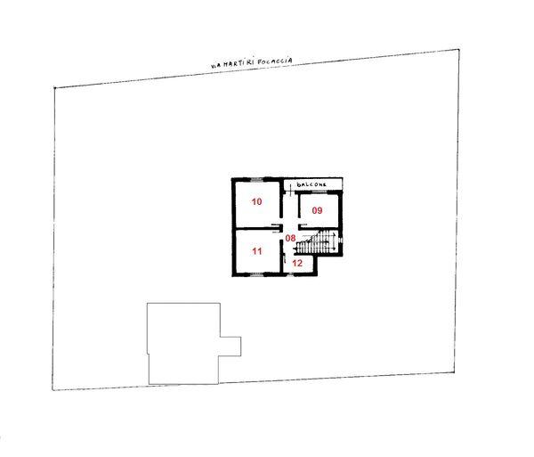 Immagine n4 - Planimetria - Piano primo - Asta 1753