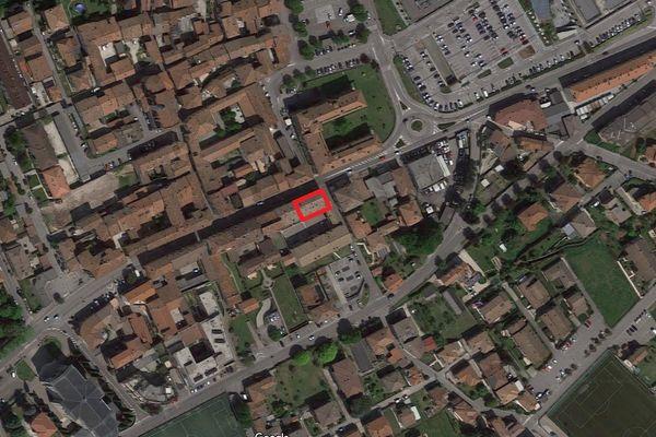 Immagine n0 - Planimetria - Vista aerea - Asta 1766