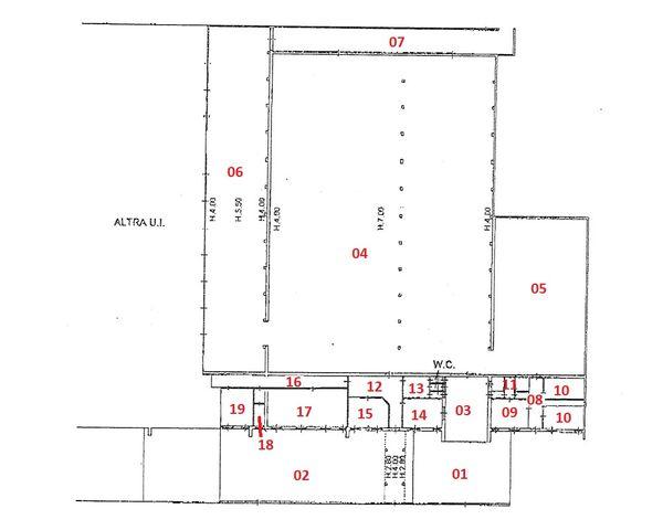 Immagine n18 - Planimetria - Piano terra - Asta 1768