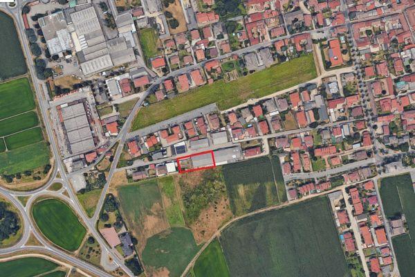 Immagine n0 - Planimetria - Vista aerea - Asta 1772