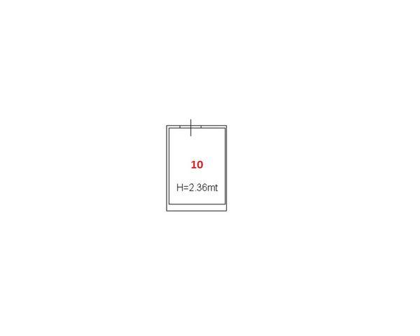 Immagine n0 - Planimetria - Piano primo seminterrato - Asta 1840