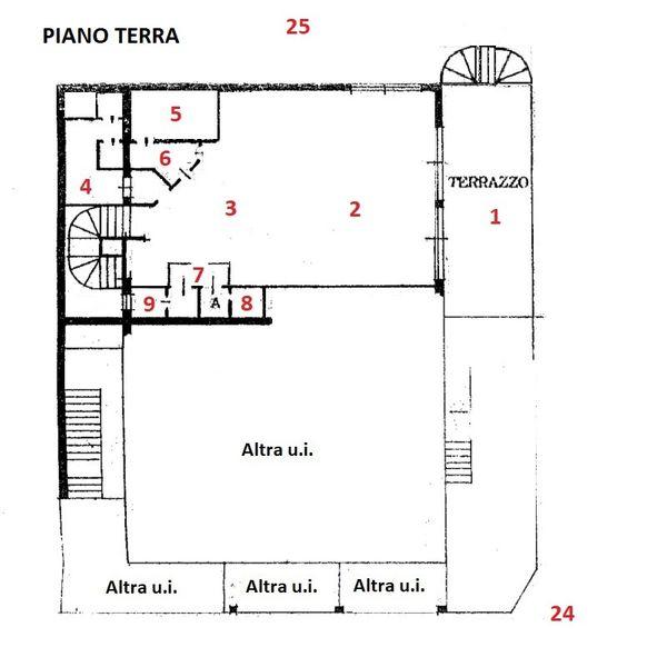 Immagine n0 - Planimetria - Planimetria Virtual Tour - Asta 1855