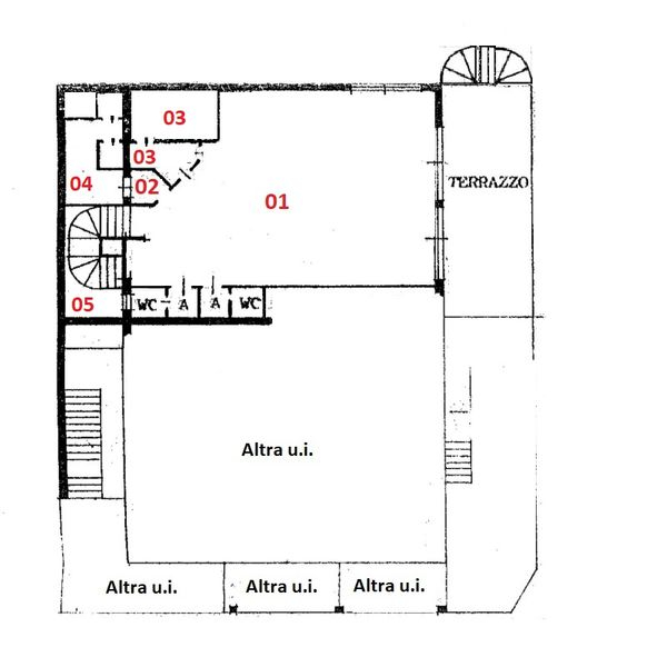 Immagine n4 - Planimetria - Piano terra - Asta 1855
