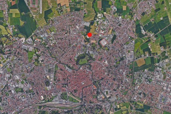 Immagine n0 - Planimetria - Vista aerea - Asta 1866