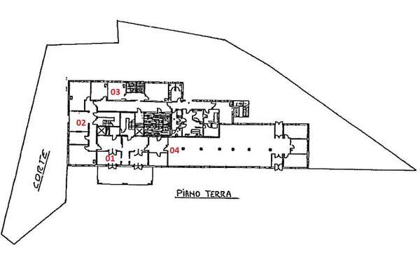 Immagine n1 - Planimetria - Piano terra - Asta 1869