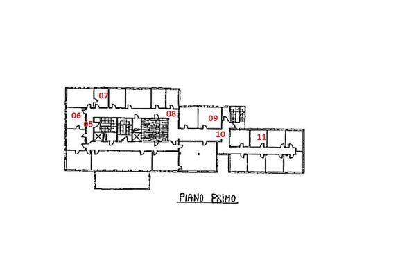 Immagine n2 - Planimetria - Piano primo - Asta 1869