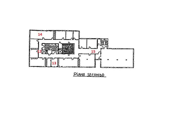 Immagine n3 - Planimetria - Piano secondo - Asta 1869