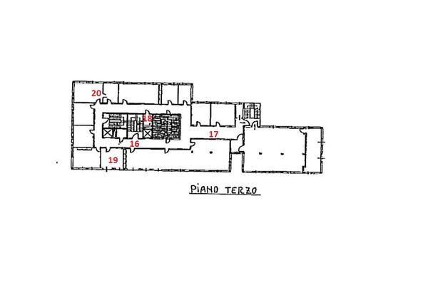 Immagine n4 - Planimetria - Piano terzo - Asta 1869