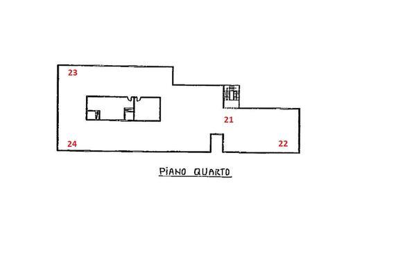 Immagine n5 - Planimetria - Piano quarto - Asta 1869