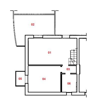 Immagine n5 - Planimetria - Piano secondo - Asta 1877