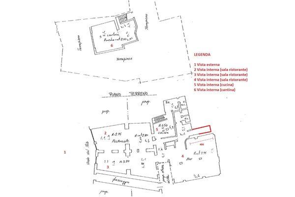 Immagine n3 - Planimetria - Planimetria Virtual tour - Asta 1886