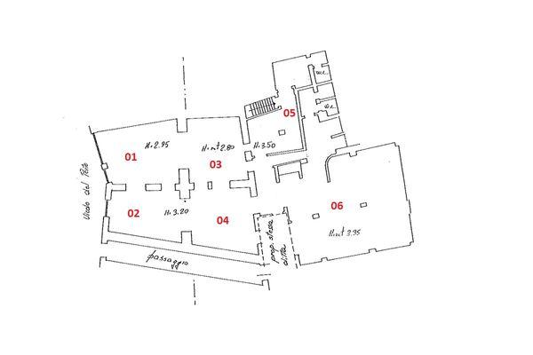 Immagine n5 - Planimetria - Piano terra - Asta 1886