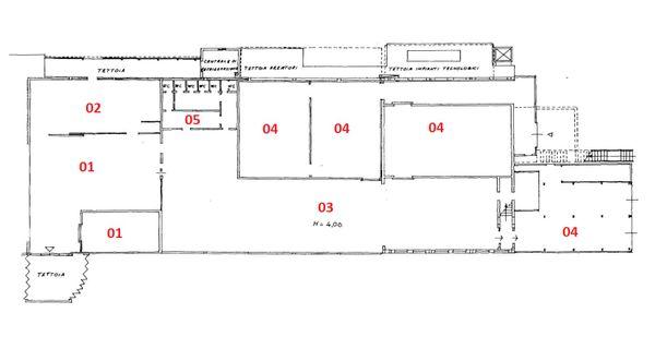 Immagine n4 - Planimetria - Piano terra - Asta 1900