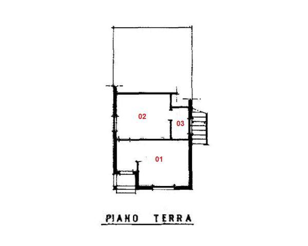 Immagine n2 - Planimetria - Piano terra - Asta 1903