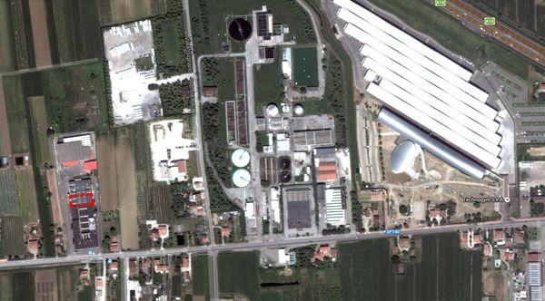 Immagine n0 - Planimetria - Vista aerea - Asta 191