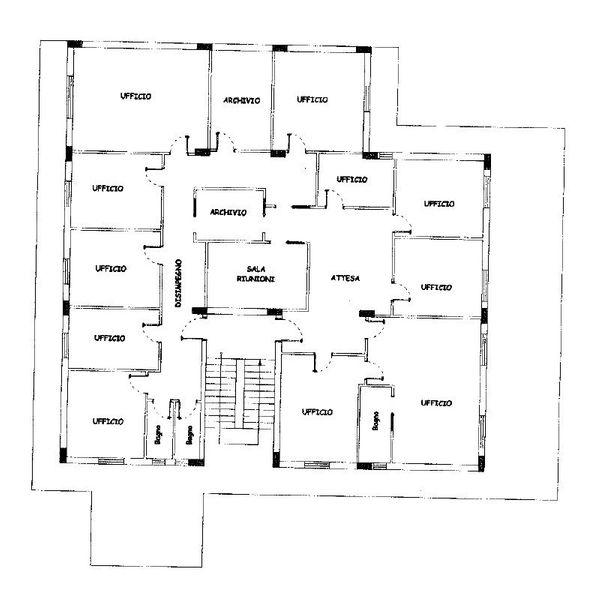 Immagine n0 - Planimetria - Subalterno 7 - Asta 1917