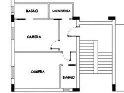 Appartamento al piano secondo (sub 9)