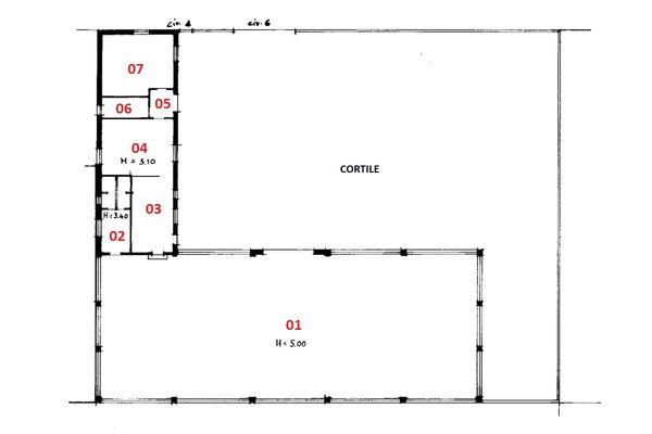 Immagine n6 - Planimetria - Piano terra - Asta 1925