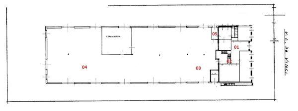 Immagine n1 - Planimetria - Piano terra - Asta 1933