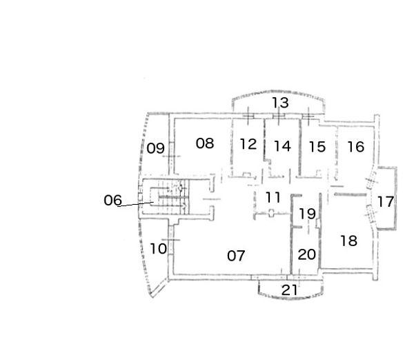 Immagine n14 - Planimetria - Piano primo - Asta 196